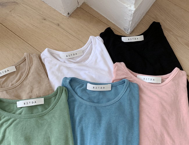 [made] modal round tee (6color)